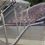 EVACUATED TUBE SOLAR HOT WTAER SYSTEM INSTALLATION 2