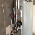 EVACUATED TUBE SOLAR HOT WTAER SYSTEM INSTALLATION 3